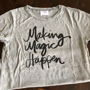 Sincerely Jules Making Magic Happen Tee Brand New